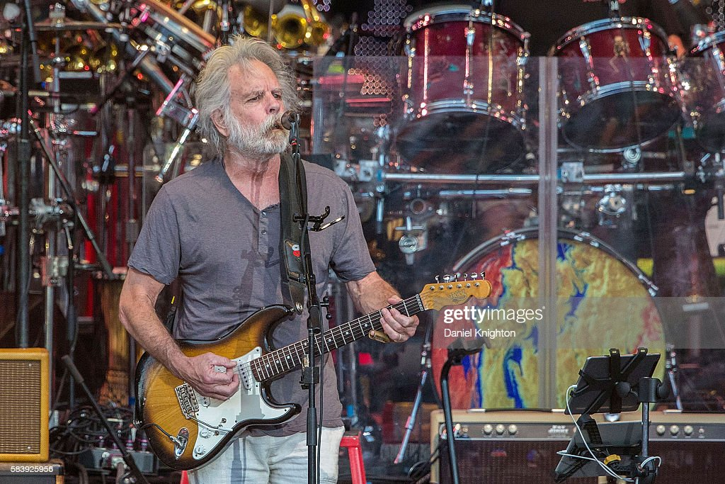 Musician Bob Weir of Dead & Company performs on stage at Sleep Train Amphitheatre on July 27, 2016 in Chula Vista, California.