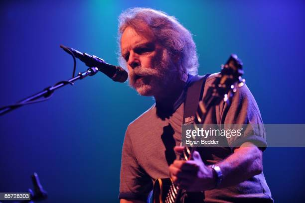 Musician Bob Weir of the band The Dead performs at Roseland Ballroom on March 30 2009 in New York City