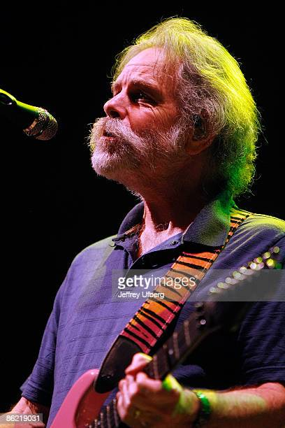 Musician Bob Weir of The Dead perform live at Madison Square Garden on April 25 2009 in New York City