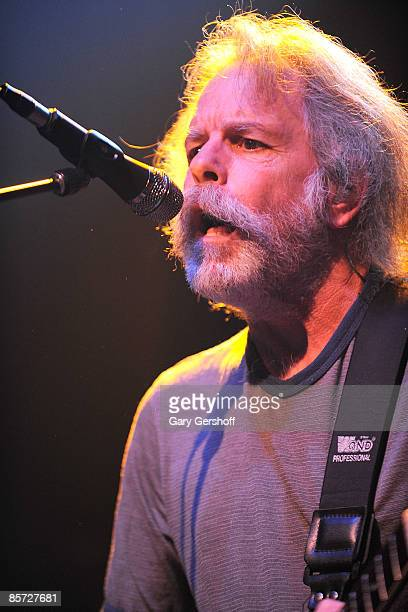 Musician Bob Weir of The Dead performs at the Gramercy Theater on March 30 2009 in New York City
