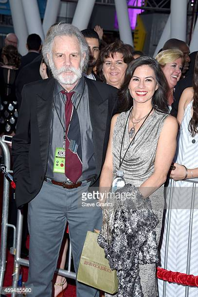 Musician Bob Weir of the Grateful Dead and Natascha Weir attend the 2014 American Music Awards at Nokia Theatre LA Live on November 23 2014 in Los...