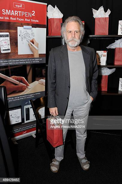 Musician Bob Weir of The Grateful Dead attends the 2014 American Music Awards UPS Gifting Suite at Nokia Theatre LA Live on November 22 2014 in Los...
