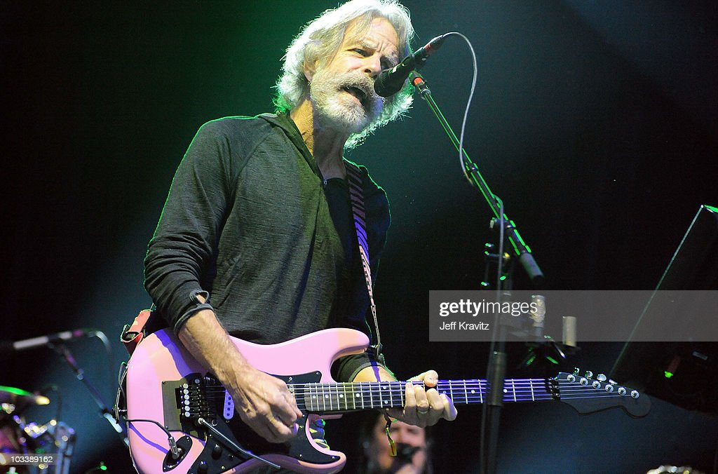 Musician Bob Weir performs with Furthur featuring Phil Lesh and Bob Weir at the 2010 Outside Lands Music and Arts Festival at Golden Gate Park on August 14, 2010 in San Francisco, California.