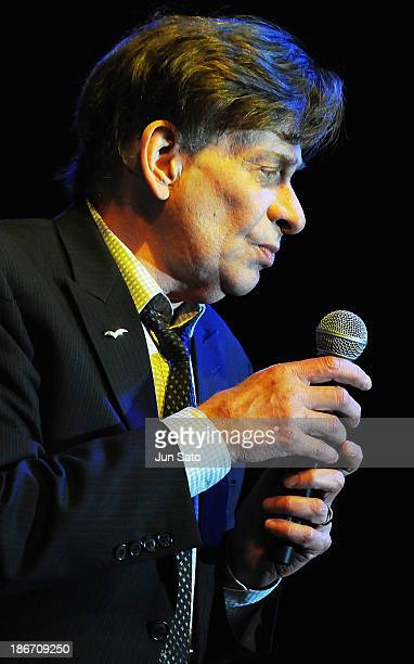 Musician Bobby Caldwell performs during the 4th annual Pacific Rim Jazz Festival at Hawaii Concention Center on November 2 2013 in Honolulu Hawaii