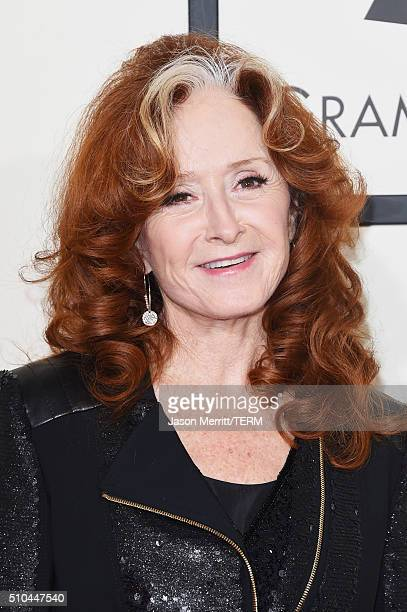 Musician Bonnie Raitt attends The 58th GRAMMY Awards at Staples Center on February 15 2016 in Los Angeles California