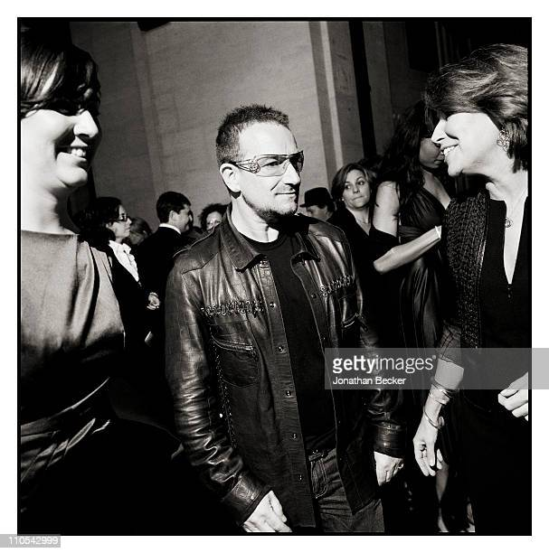 Musician Bono is photographed at the Tribeca Film Festival for Vanity Fair Magazine on April 21 2009 in New York City