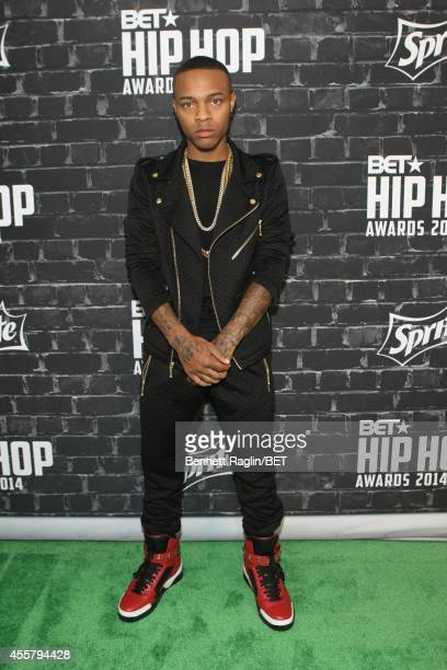 Musician Bow Wow attends the BET Hip Hop Awards 2014 presented by Sprite at Boisfeuillet Jones Atlanta Civic Center on September 20 2014 in Atlanta...