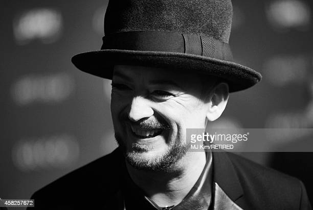Musician Boy George is photographed at the 2014 LACMA Art Film Gala Honoring Barbara Kruger And Quentin Tarantino Presented By Gucci on November 1...
