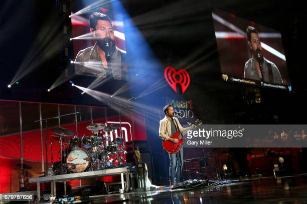 Musician Brad Tursi of Old Dominion performs onstage during the 2017 iHeartCountry Festival A Music Experience by ATT at The Frank Erwin Center on...