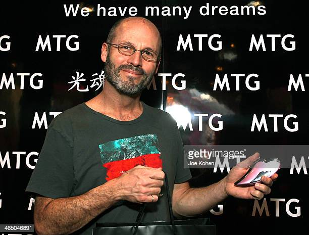 Musician Brad Wells attends the GRAMMY Gift Lounge during the 56th Grammy Awards at Staples Center on January 25 2014 in Los Angeles California