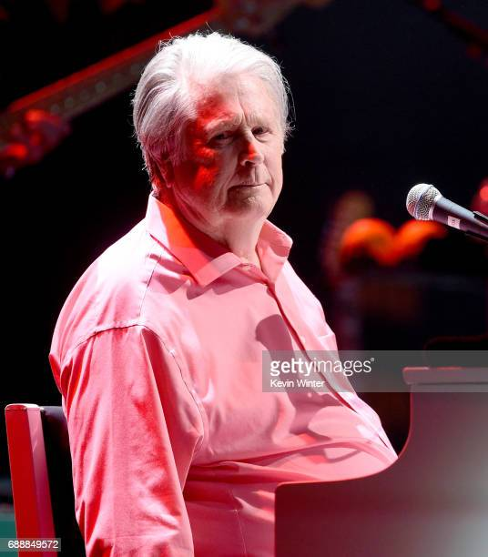 Musician Brain Wilson performs Pet Sounds at the Pantages Theatre on May 26, 2017 in Los Angeles, California.