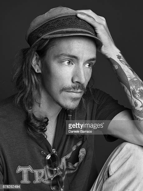Musician Brandon Boyd is photographed for Self Assignment in 2012.