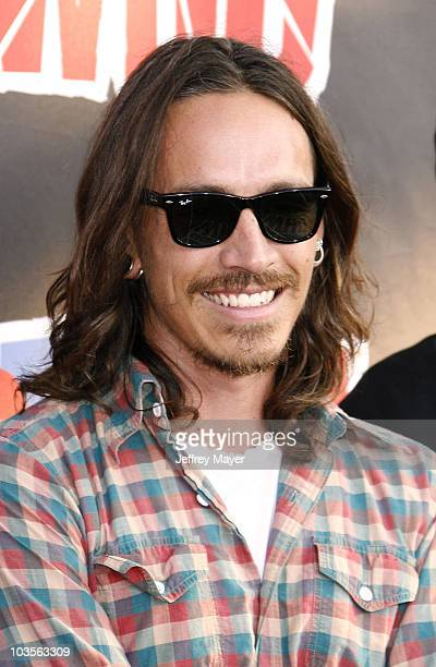 Musician Brandon Boyd of Incubus attends the 2008 VH1 Rock Honors The Who at the Pauley Pavilion on the UCLA Campus on July 12 2008 in Westwood...