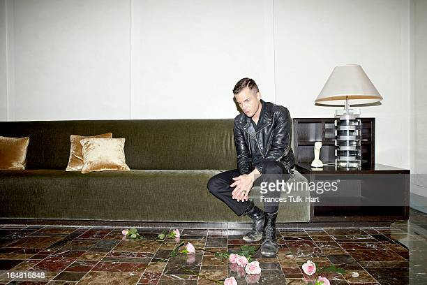 Musician Brandon Flowers of The Killers is photographed for Room 100 Magazine on October 19, 2012 in New York City. PUBLISHED IMAGE.