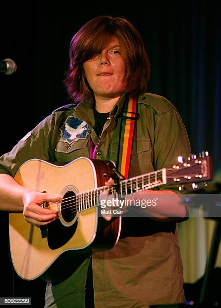 Musician Brett Dennen during the Tribeca ASCAP Music Lounge at the 2008 Tribeca Film Festival on April 29 2008 in New York City