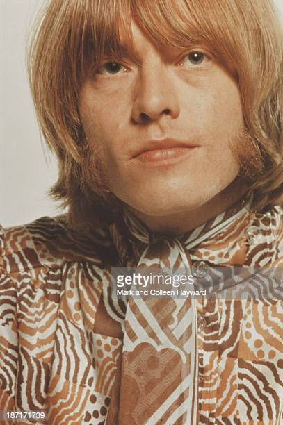 Musician Brian Jones from The Rolling Stones posed in 1968