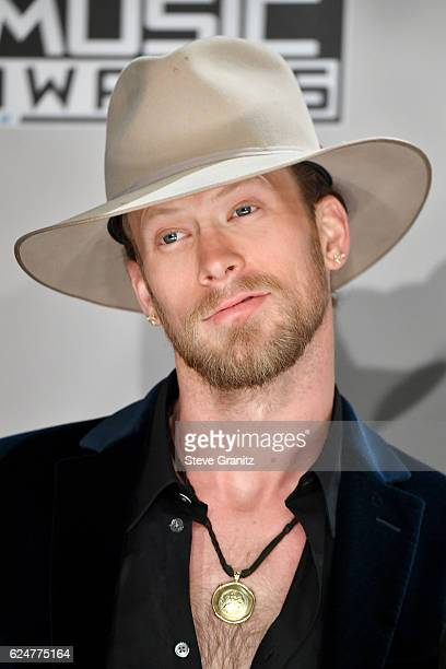 Musician Brian Kelley of Florida Georgia Line winner of the Favorite Country Duo or Group award poses in the press room during the 2016 American...