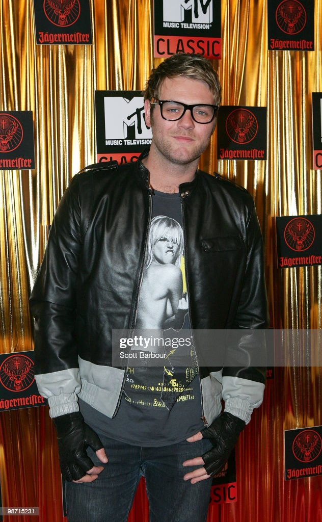 Musician Brian McFadden arrives at the 'MTV Classic: The Launch' music event at the Palace Theatre on April 28, 2010 in Melbourne, Australia. The event marks the launch of MTV's new music channel 'MTV Classic', a 24-hour channel of classic contemporary music aimed at 25-40 year olds.