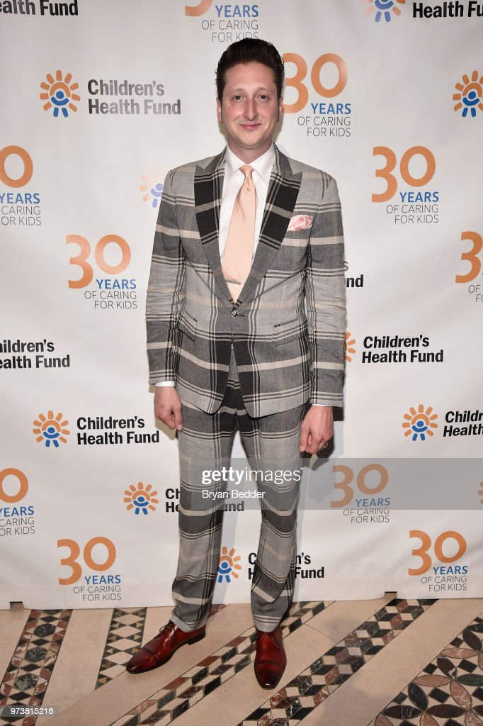 Musician Brian Newman attends the Children's Health Fund 2018 Annual Benefit at Cipriani 42nd Street on June 13, 2018 in New York City.