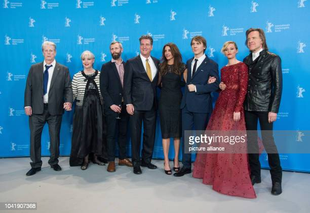 Musician Brian Wilson his wife Melinda Ledbetter author Dino Jonsaeter producers Jim Lefkowitz and Claire Rudnick Polstein actors Paul Dano and...