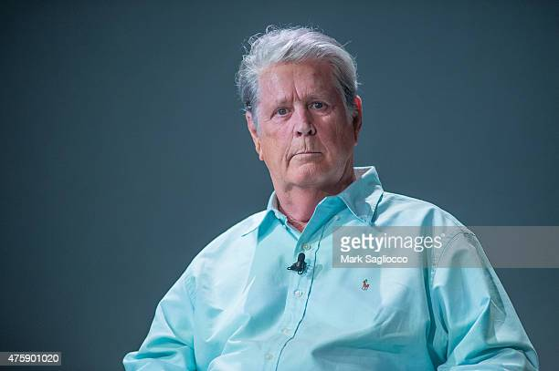 Musician Brian Wilson of The Beach Boys attends Meet the Filmmaker Love and Mercy at Apple Store Soho on June 4 2015 in New York City