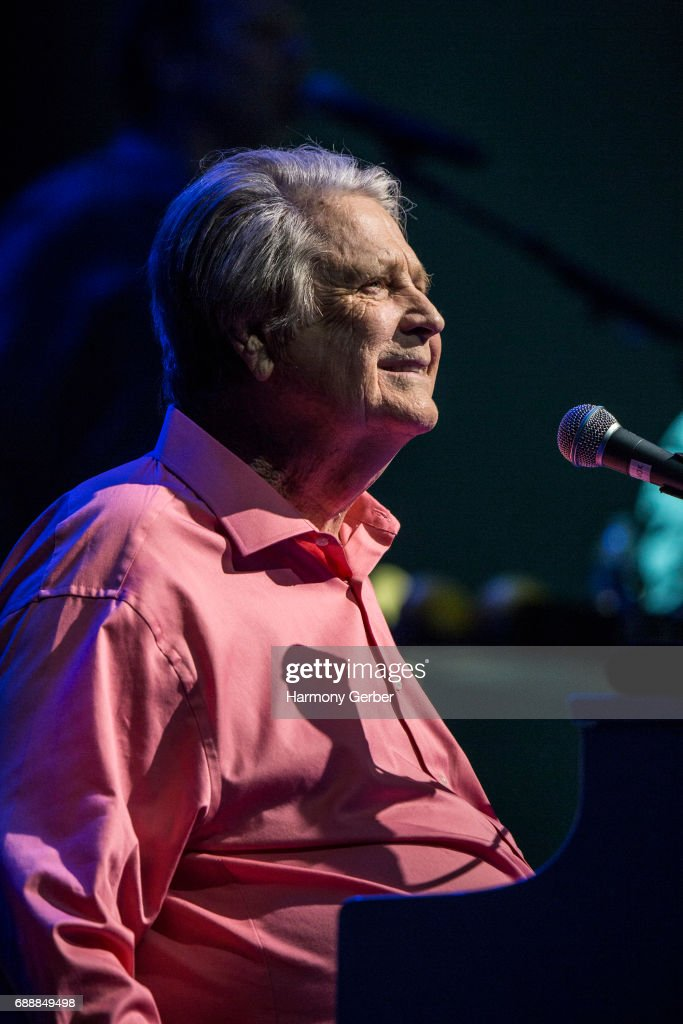 Musician Brian Wilson performs at the Pantages Theatre on May 26, 2017 in Hollywood, California.