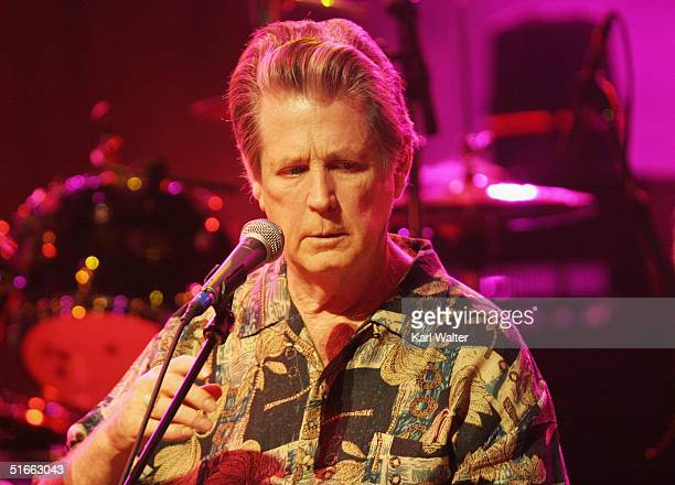 Musician Brian Wilson performs songs from SMiLE at the Walt Disney Concert Hall on November 3, 2004 in Los Angeles, California.