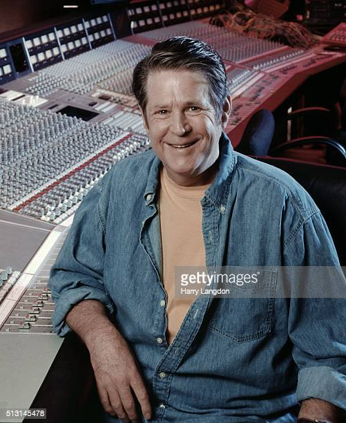 Musician Brian Wilson poses for a portrait in 1998 in Los Angeles California