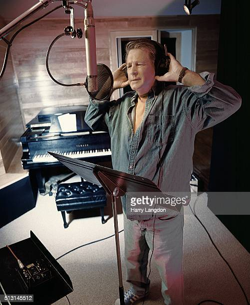 Musician Brian Wilson poses for a portrait in 1998 in Los Angeles, California.
