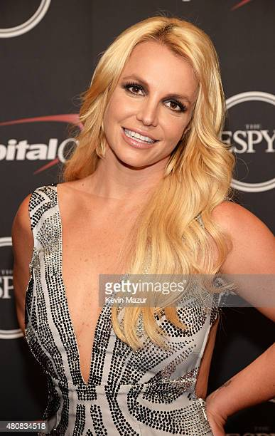 Musician Britney Spears attends The 2015 ESPYS at Microsoft Theater on July 15 2015 in Los Angeles California