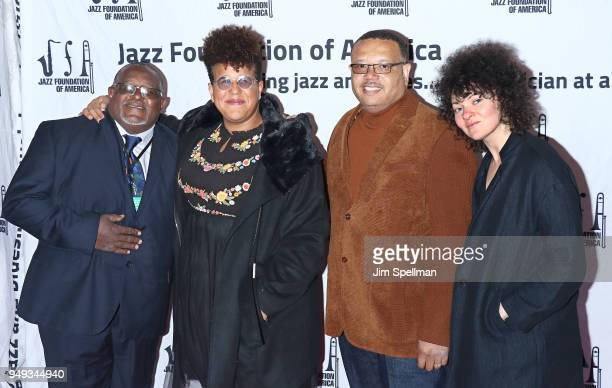 Musician Brittany Howard and family attend the16th Annual A Great Night In Harlem gala at The Apollo Theater on April 20 2018 in New York City
