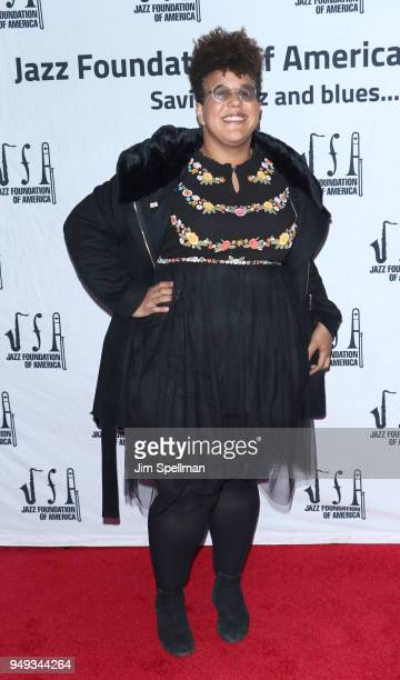 Musician Brittany Howard attends the16th Annual A Great Night In Harlem gala at The Apollo Theater on April 20 2018 in New York City