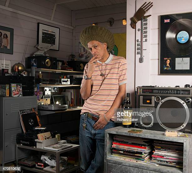 Musician, broadcaster and film-maker Don Letts is photographed for the Observer on January 15, 2015 in London, England.