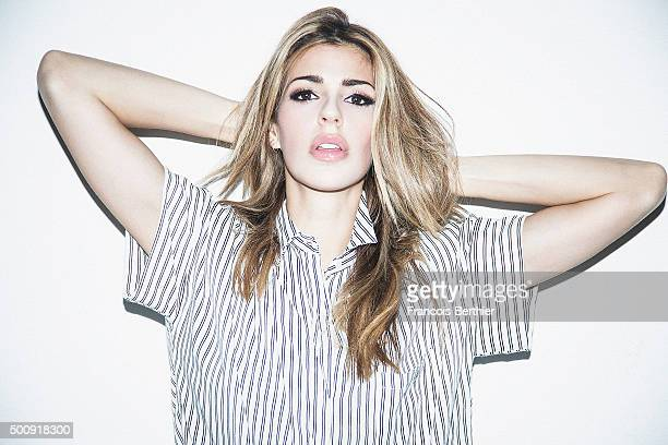 Musician Brooke Fraser is photographed for Self Assignment on March 25 2015 in Paris France