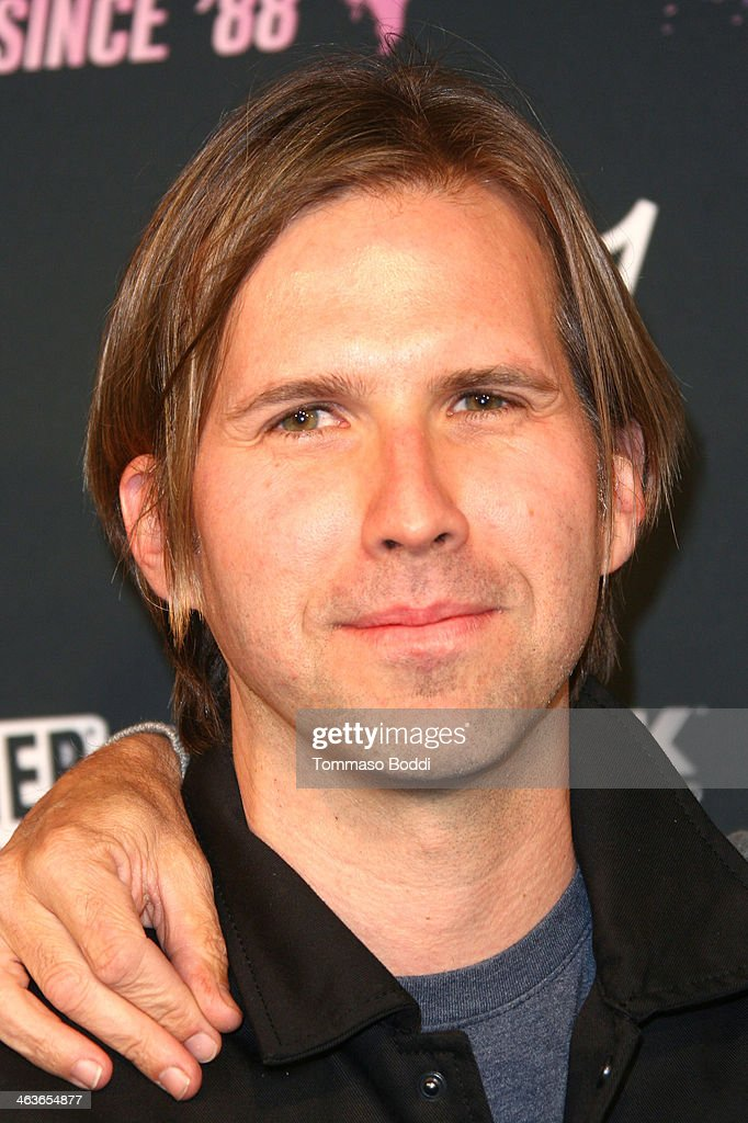 Musician Brooks Wackerman attends the Guitar Center's 25th annual Drum-Off grand finals held at Club Nokia on January 18, 2014 in Los Angeles, California.