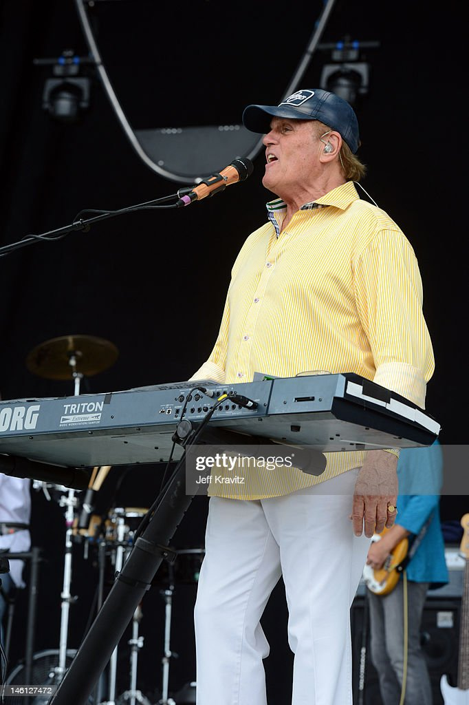 Musician Bruce Johnston of The Beach Boys performs onstage during Day 4 of Bonnaroo 2012 on June 10, 2012 in Manchester, Tennessee.