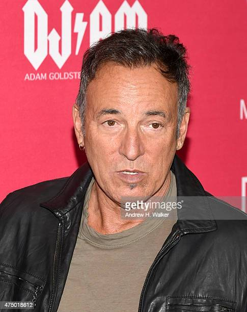 Musician Bruce Springsteen attends the 11th Annual Musicares Map Fund Benefit concert at Best Buy Theater on May 28 2015 in New York City