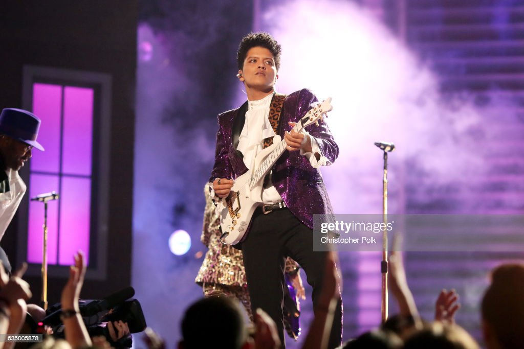 Bruno Mars received six nominations - Record of the Year, Album of the Year, Song of the Year, Best R&B Album, Best R&B Song, Best R&B Performance