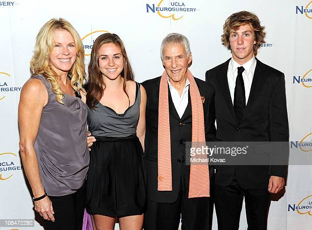 Musician Burt Bacharach his wife Jane Bacharach daughter Raleigh and son Oliver attend UCLA Department of Neurosurgery's 2010 Visionary Ball at The...