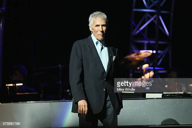 Musician Burt Bacharach onstage during the SeriousFun Children's Network 2015 Los Angeles Gala An Evening Of SeriousFun celebrating the legacy of...