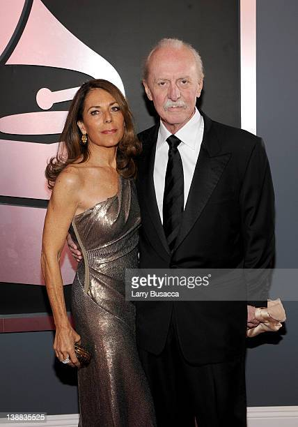 Musician Butch Trucks of the Allman Brothers and his wife arrive at the 54th Annual GRAMMY Awards held at Staples Center on February 12 2012 in Los...