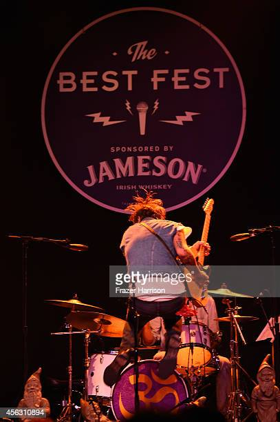Musician Butch Walker performs at The Best Fest Presents GEORGE FEST An Evening To Celebrate The Music Of George Harrison at The Fonda Theatre on...