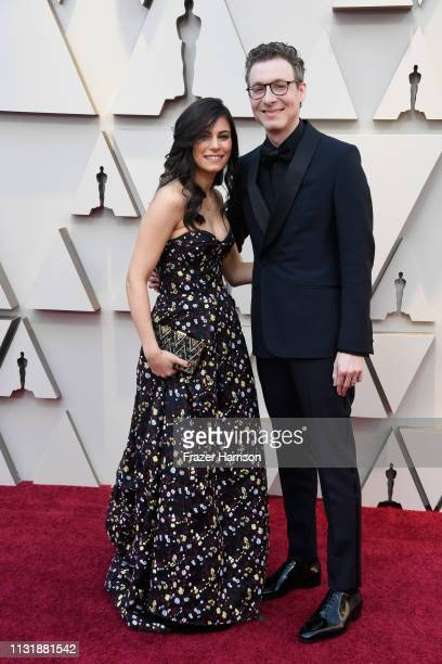 Musician Caitlin Sullivan and composer Nicholas Britell attend the 91st Annual Academy Awards at Hollywood and Highland on February 24 2019 in...