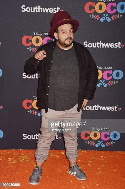 Musician Camilo Lara arrives at the premiere of Disney Pixar's 'Coco' at El Capitan Theatre on November 8 2017 in Los Angeles California