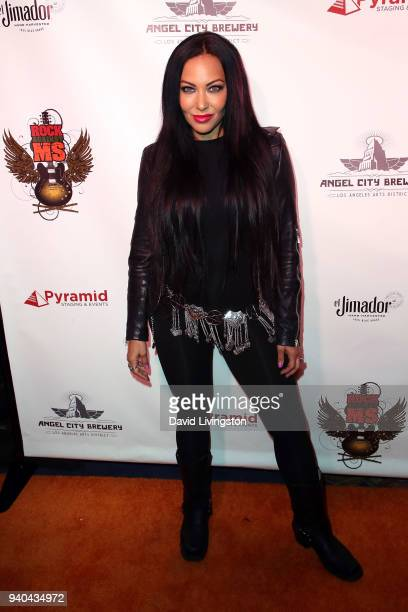 Musician Carla Harvey attends the 6th Annual Rock Against MS benefit concert and award show at the Los Angeles Theatre on March 31 2018 in Los...