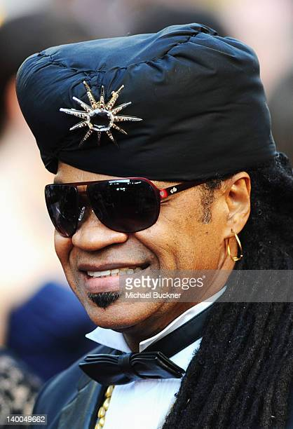 Musician Carlinhos Brown arrives at the 84th Annual Academy Awards held at the Hollywood Highland Center on February 26 2012 in Hollywood California