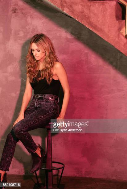 Musician Carly Pearce is photographed for Billboard Magazine on August 15 2017 in Nashville Tennessee