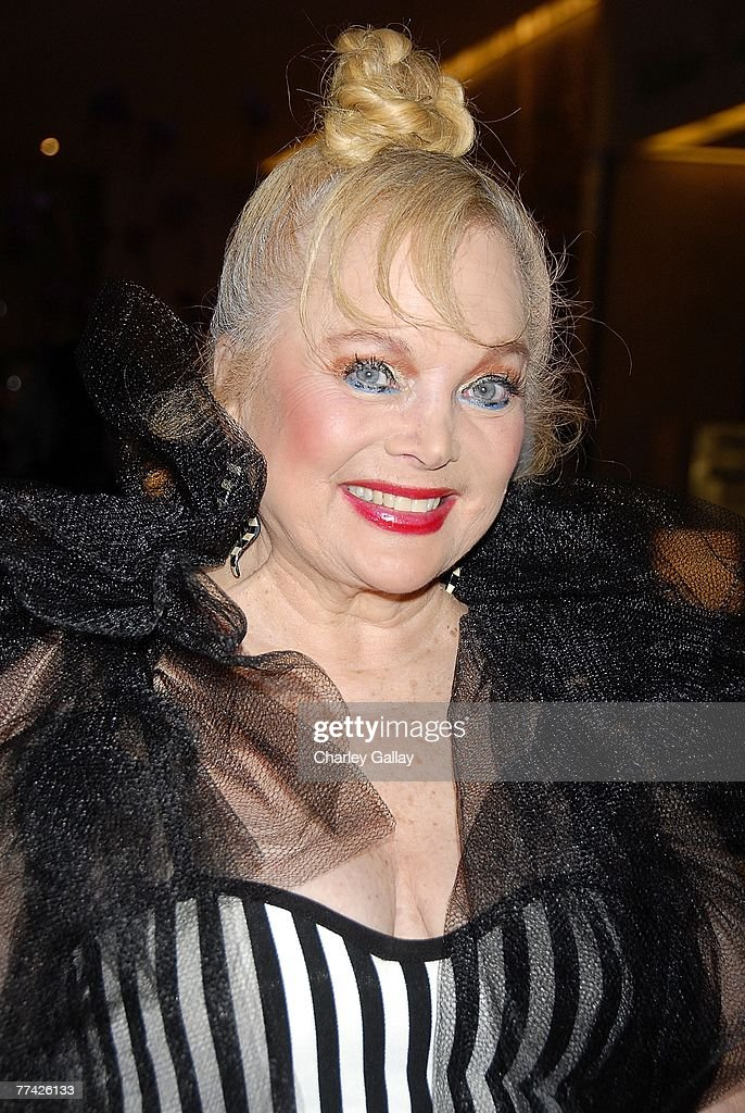 Musician Carol Connors the 53rd Annual Young Musicians Foundation Gala, celebrating Merv Griffin, at the Beverly Hilton hotel on October 19, 2007 in Los Angeles, California.