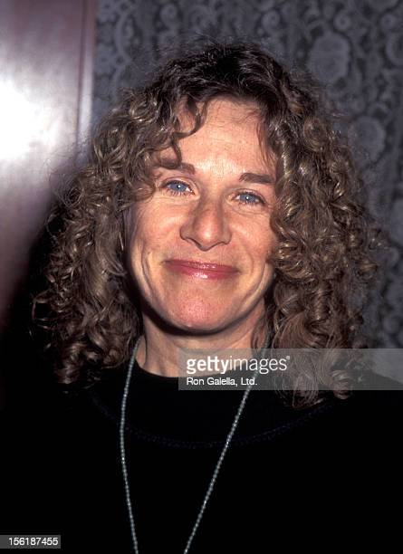 Musician Carole King attends the screening of 'The Postman' on January 10 1996 at Sony Lincoln Square Theater in New York City