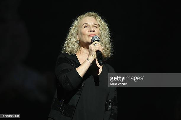 Musician Carole King performs onstage during SeriousFun Children's Network 2015 Los Angeles Gala An Evening Of SeriousFun celebrating the legacy of...